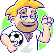 100% Fußballparty von Feierfreund